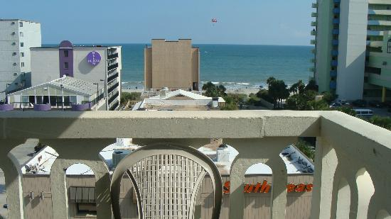 Quality Inn & Suites Myrtle Beach: View from our room