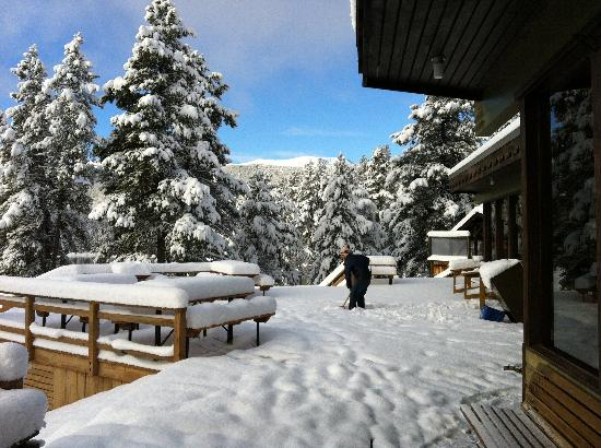 Jasper Park Lodge : It's winter wonderland in October!