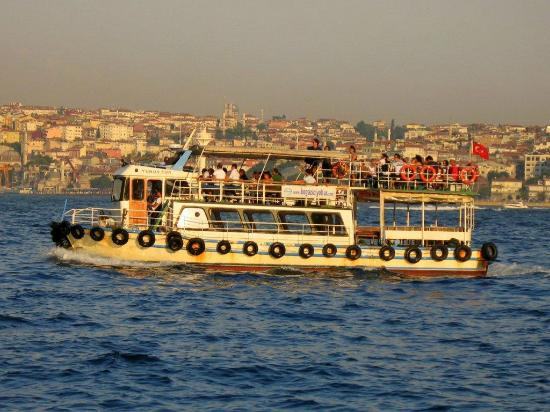 Istanbul Suite Home Istiklal : ferry near bridge