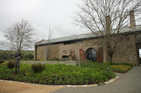 Tokara Restaurant: The olive shed