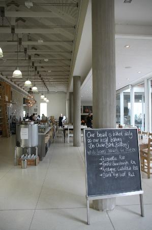 Tokara Restaurant: Deli shop & dining area