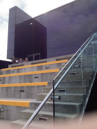 "Guthrie Theater: On the Jundt Terrace on the ""Endless Bridge"""