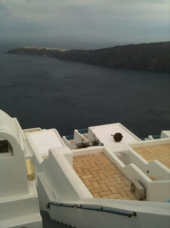 Heliotopos Hotel: view from the room