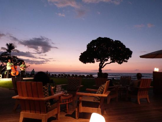 Four Seasons Resort Hualalai Sunset From Beach Tree