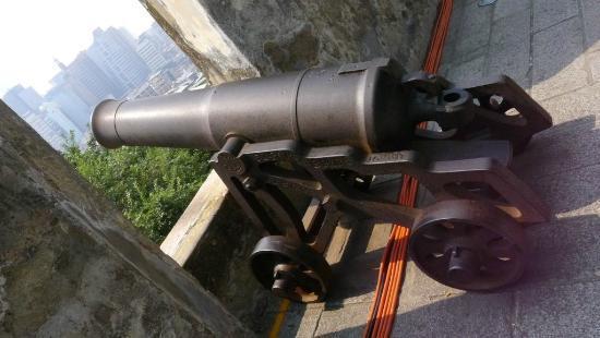 Monte Forte (Fortaleza do Monte): Monte Forte - Nice cannon