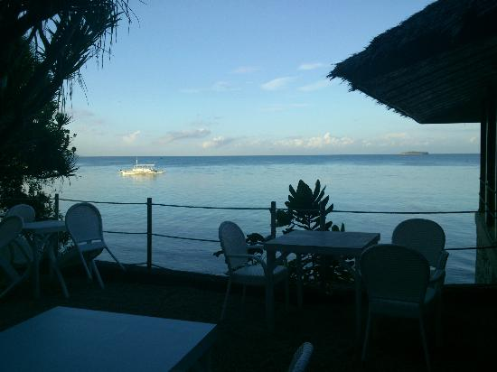 Quo Vadis Dive Resort: lovely morning