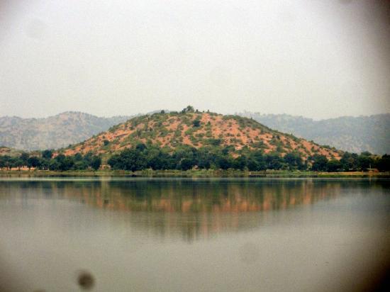 Khajuraho, Indie: a view from dam