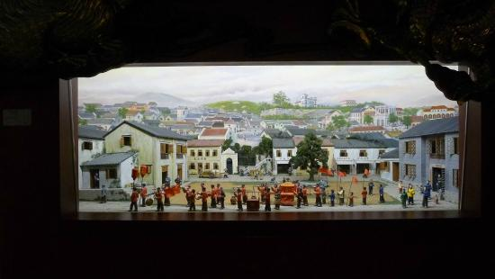 Macao Museum - miniature models
