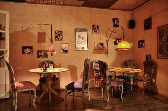 Interior of Art-Cafe Amarcord