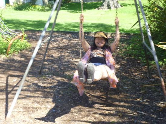 Kiwi Park Motels and Holiday Park: playground
