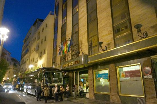 Corona de Granada Hotel : グラナダ コロナホテル