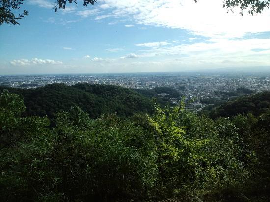 Kanayama Castle Remains: 東京都心まで一望