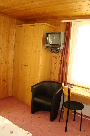 Hotel Brienzerburli And Lowen: Room Tv
