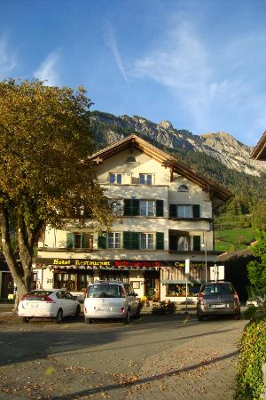 Hotel Brienzerburli und Löwen: Hotel front