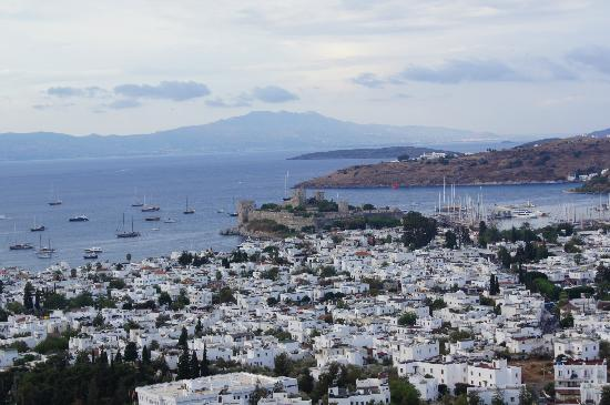 The Marmara, Bodrum: view from our room