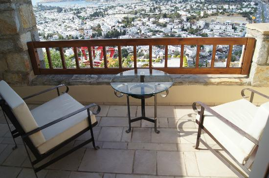 The Marmara, Bodrum: Balcony