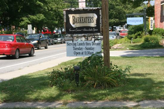 Barkeaters : Near the center of the village