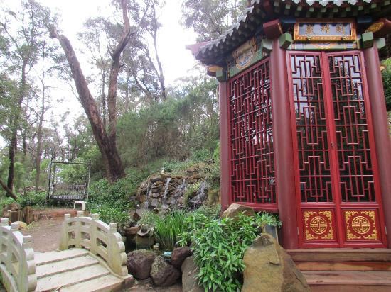 Mt Dandenong Imperial Retreat: The Chinese Pavilion (which has not been completed)