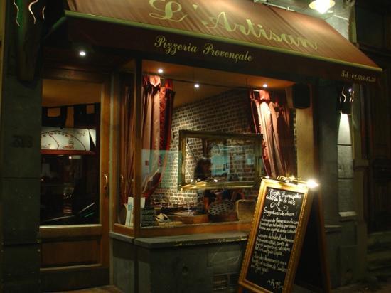L 39 artisan bruxelles restaurant avis num ro de for Hotel romantique belgique