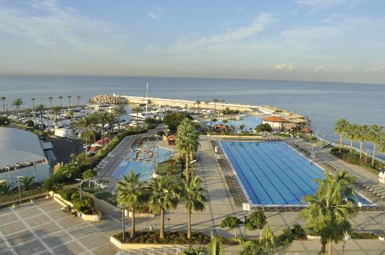 Movenpick Hotel Beirut: Seaview room