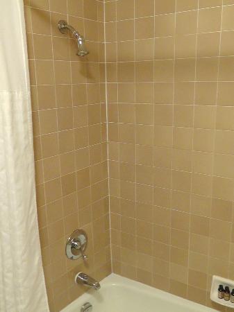 Hotel Abrego: Dusche 2. Zimmer