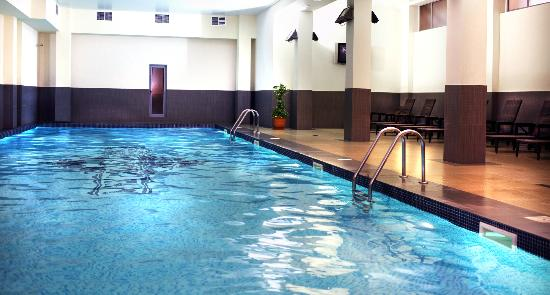 Ani Plaza Hotel: Indoor swimming pool