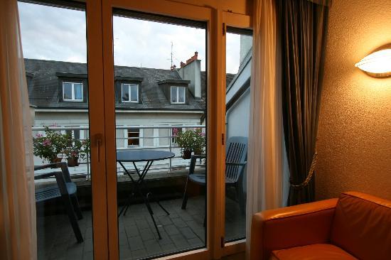 Hotel Residence CityZen: Apartment 62 balcony