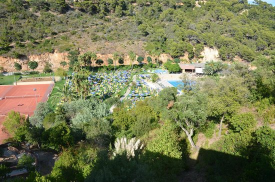 Giverola Resort: view from the room