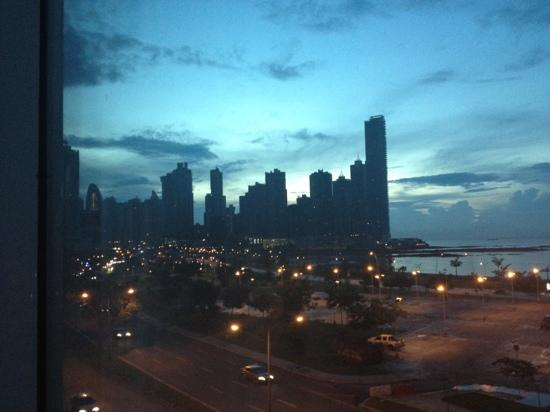 Le Meridien Panama: Views from my window