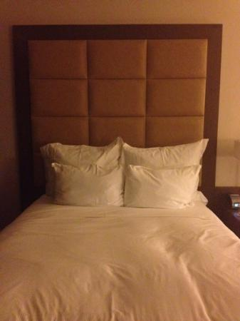 Le Meridien Panama: one of the double beds in the room, really comfy.