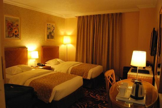 Geneva Hotel: twin room