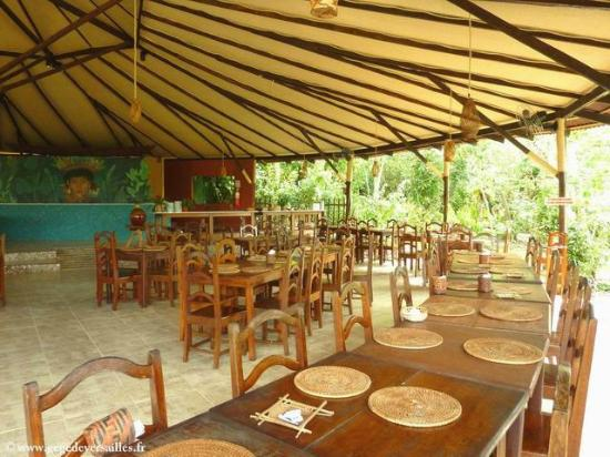 Amazon Ecopark Jungle Lodge: Le restaurant