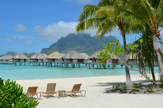 Four Seasons Resort Bora Bora: View from our villa...