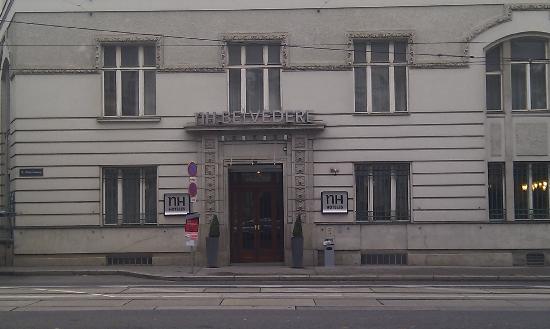 NH Wien Belvedere: Facade / main entrance