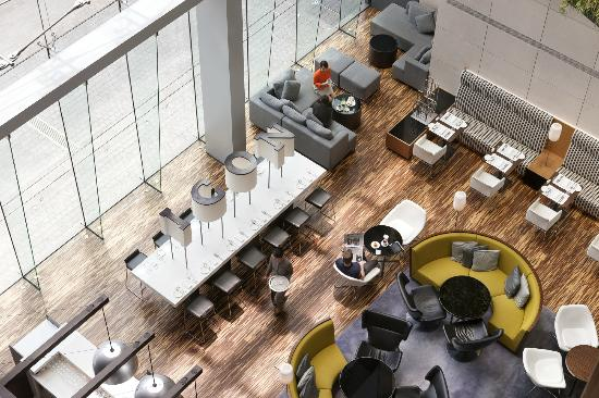 Hotel ICON: Lobby Lounge - Green