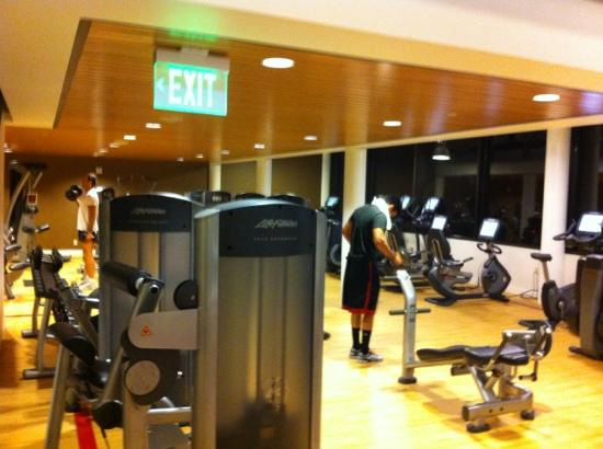 Sheraton Seattle Hotel: Gym in the Tower