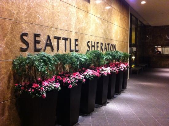 Sheraton Seattle Hotel: Auto Arrival Area