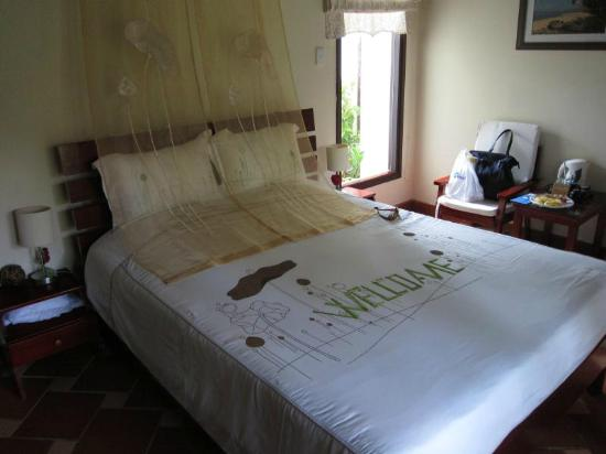 Cassia Cottage: Bed was confortable