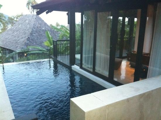 The Vijitt Resort Phuket: upper level of prime pool villa