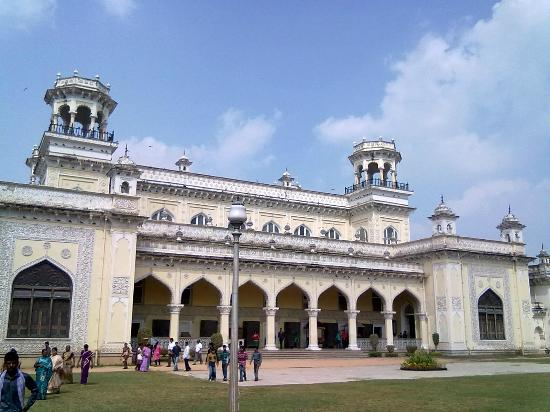 Chowmahalla Palace: Rear View of Durbar Hall from Chowmahalla Mubarak (Courtyard)