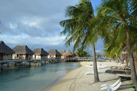 Manava Beach Resort & Spa - Moorea: View from our terrace