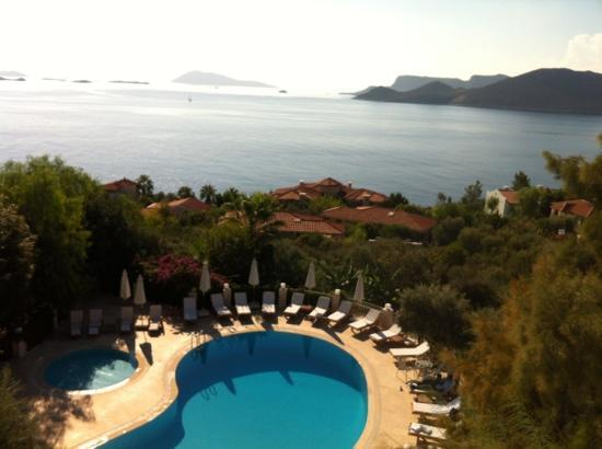 Olea Nova Hotel: view from balcony