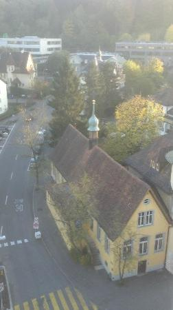 Hotel Linde: View from my room