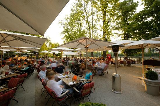 Gerbermühle Hotel: Gerbermühle Sommergarten