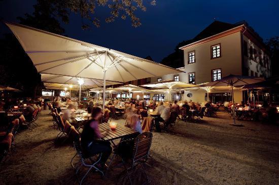 Gerbermühle Hotel: Gerbermühle Terrasse
