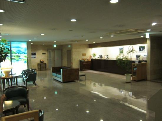 Ina Park Hotel: ロビーの様子