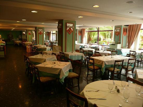 Globales Palmanova: Dining area