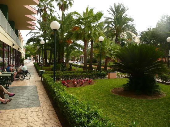 Globales Palmanova: Gardens