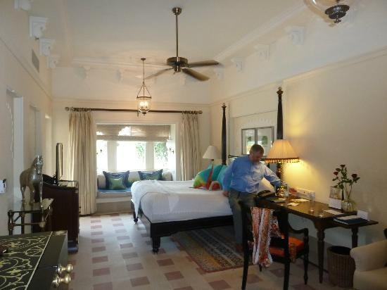 The Oberoi Udaivilas: Bedroom