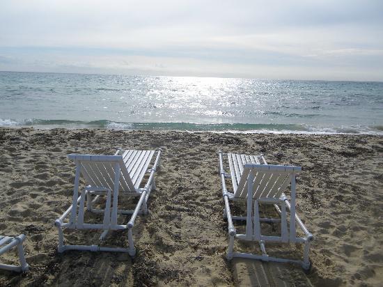 Hotel Club President: plage